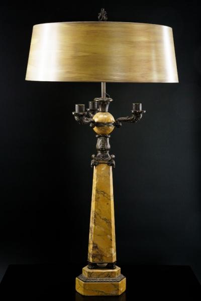 Sienna Marmor-Leuchte